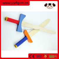 handmade craft wooden toy swords