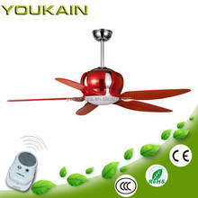 52 Inch PC material blades ceiling fan with light