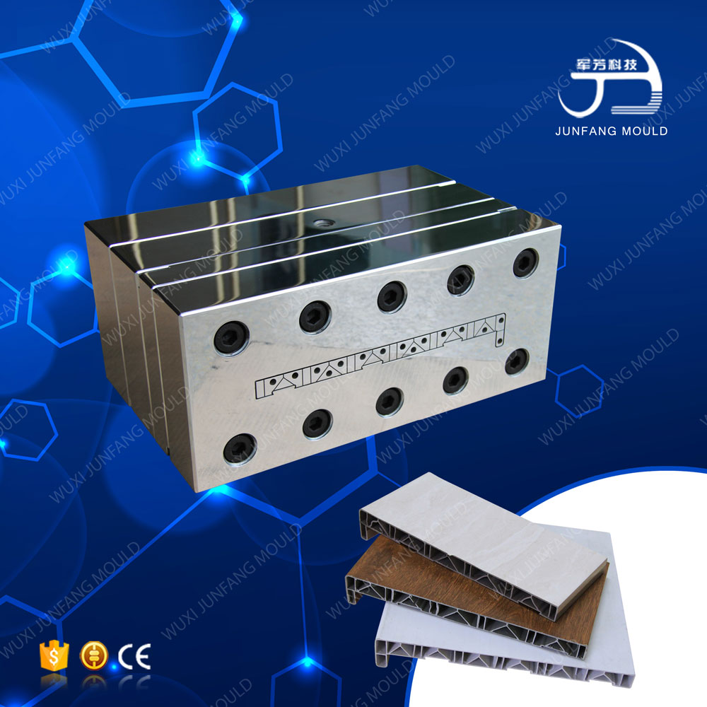 Durable extrusion die for building material