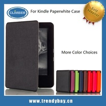 Welcome OEM ODM Order leather flip cover for kindle paperwhite case