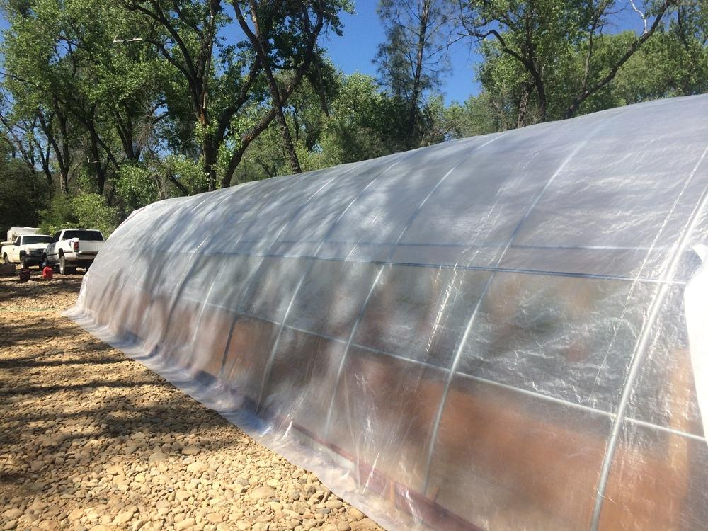 12X12X7 Foot Full Greenhouse Kit