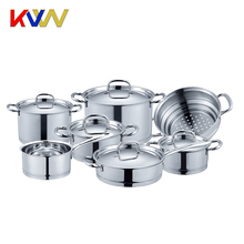 2018 Newest Prestige Same Quality 12PCS Stainless Steel Cookware