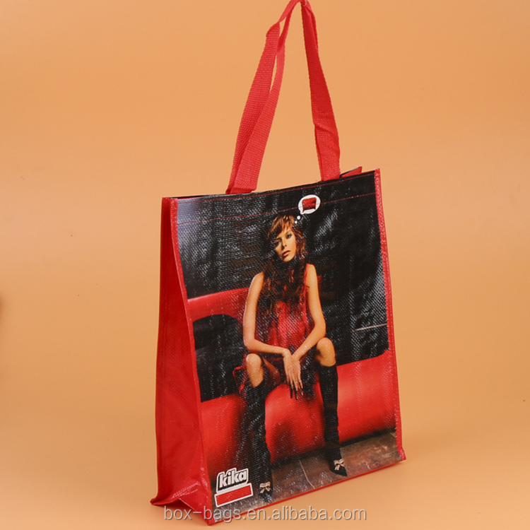 Factory custom eco friendly foldable standard size shopping bag