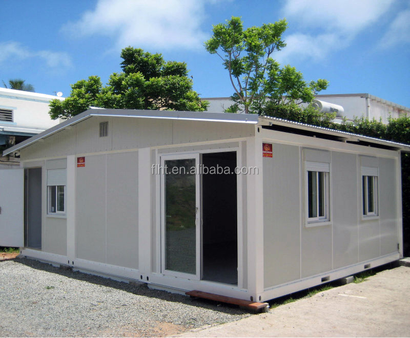 20ft Container House Connected For Temporary Relief Shelter in Chile