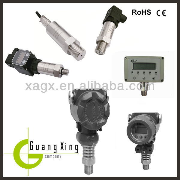 Variable range resistance to corrosion smart gauge pressure transmitter