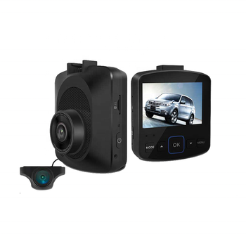 4K 2.35inch Screen Car Dash Cam With GPS  WIFI Support 2CH 1080P With Rear Camera 1080P For Car DVR