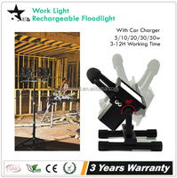 [STARLED] waterproof 3-12h working time portablere 10w rechargeable led flood light