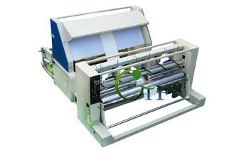 automatic filter fabric roll slitting machine