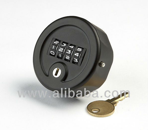 Combination CAM Lock - 4 digit with override key