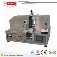 Date printing Cosmetic Tube Tail End Sealing Machine For Medicine Chemical Cream tube sealing machine HX