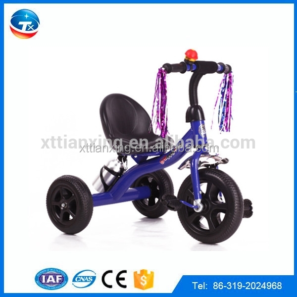 Cheap price plastic 3 wheel kids tricycle made in China