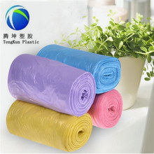 Garbage Grocery Biodegradable Plastic hdpe Bin Liner Bag on Roll