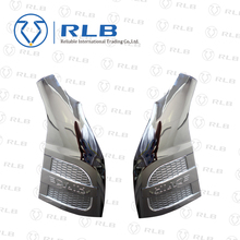 chrome accessories front fender chrome cover for new hiace