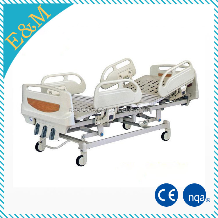 Invacare and therapeutic manual hospital bed