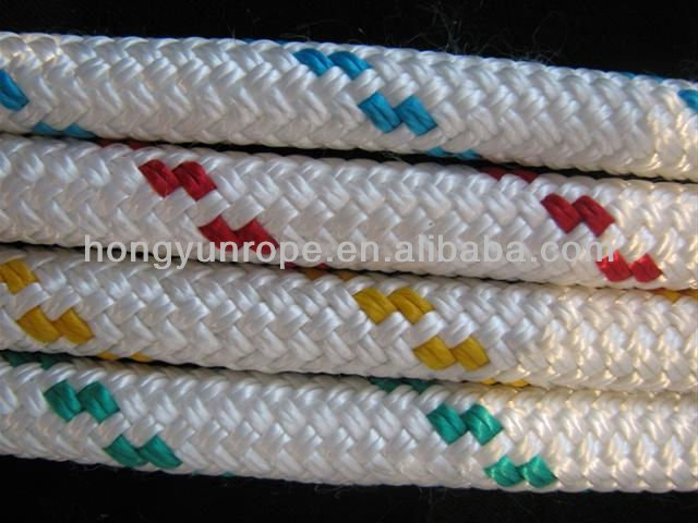 double braided/ Braided nylon rope