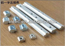 aluminum profiles accessories - M8-45 straight fittings