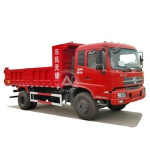 Dongfeng 4x2 6 Wheel 15 Ton Self Loading Tipper Dump Truck Capacity For Sale