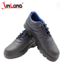 Anti piercing material Genuine Leather Welding safety shoes leather Protective labor Shoes