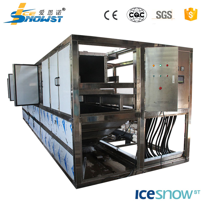 2017 newest design industrial cube tube ice maker machine cheap price