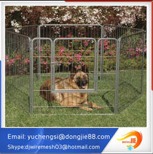 large Outdoor Black color powder coated welded Dog cages/Dog kennel