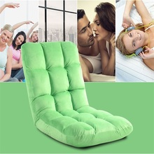 comfortable and adjustable folding floor chair,fold out sofa bed