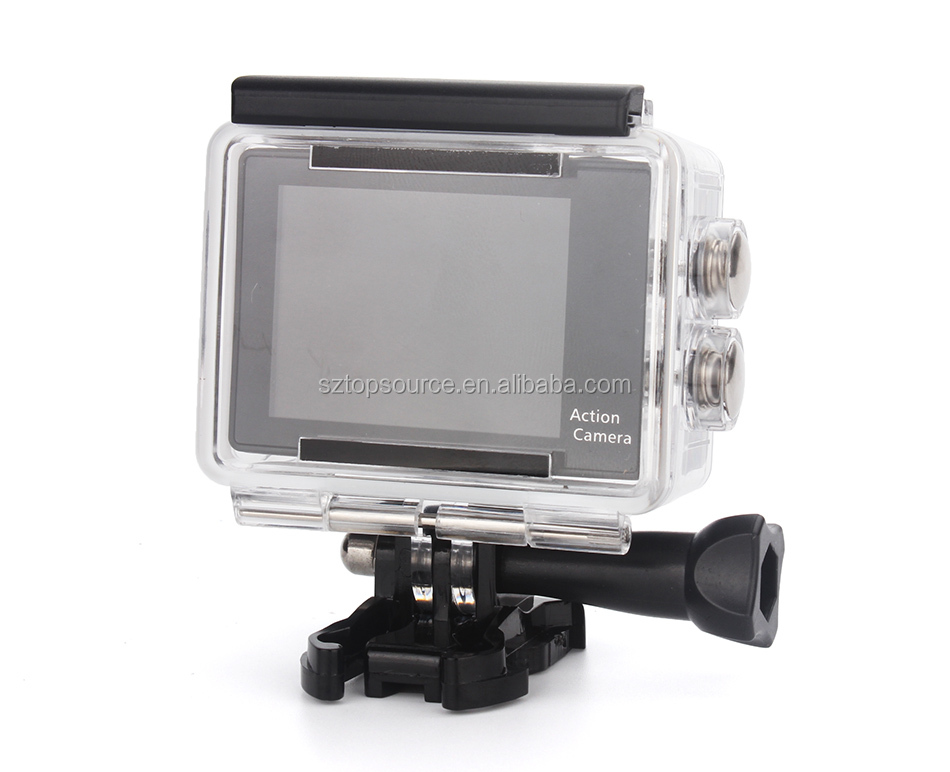 Factory Direct Cheap Action Camera 60fps Mini HD 1080P Action Camera with Remote Control Waterproof DV