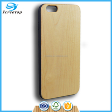 Hot sale Soft TPU wood phone cases back cover for iphone 6 plus /iPhone6s plus