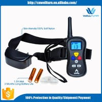 16 Correction Levels with Blue Back light Electric Shock Collar Training A Remote Control