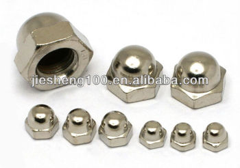 hexagon domed cap nuts DIN917 CHINA supplier