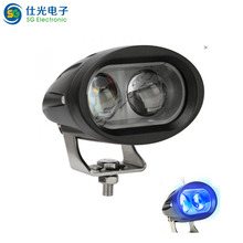 Wholesale DC 10-80V LED light 20w forklift blue point work light with lens