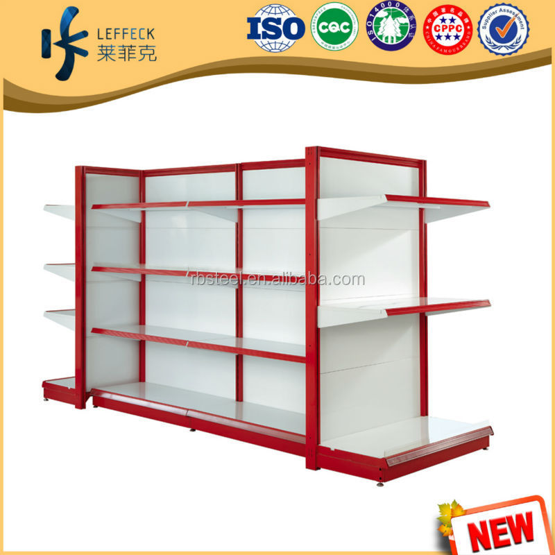 Metal specialty rack/ store showing display creat additional merchandising space