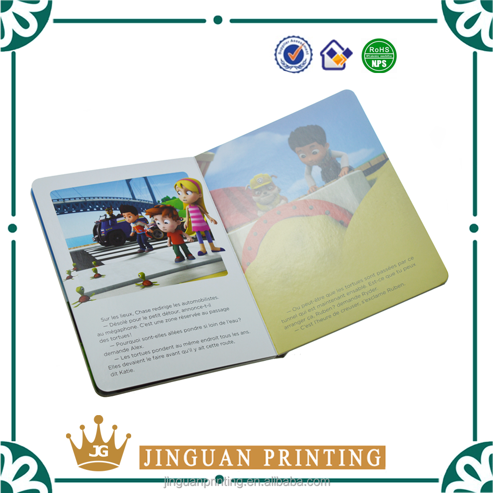 Wholesale High Quality Colorful Children Book Printing Children Board Book