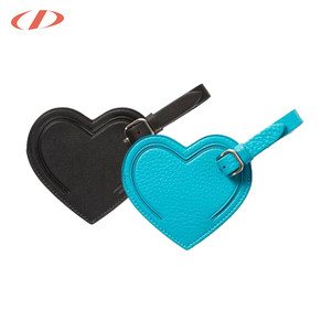 Dichel Designer Unique Leather Luggage Tags Italian Wedding Favors personalized Luggage Tags