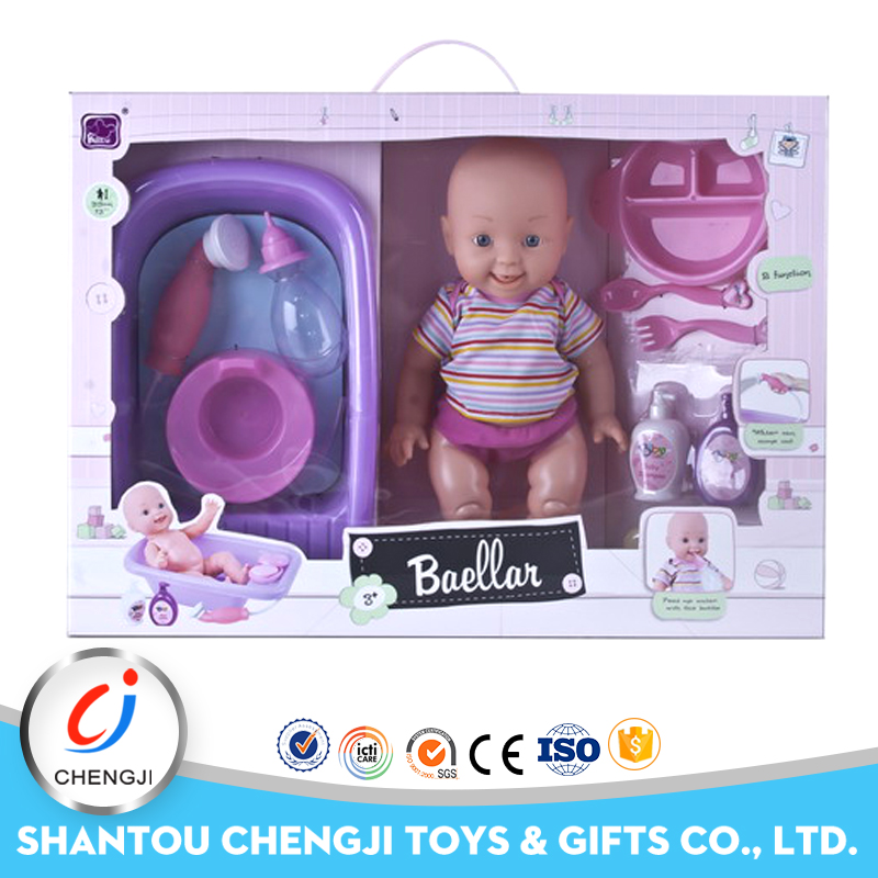 Wholesale 13 inch bathing reborn baby doll kits