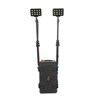 2012 Newest 12v26ah rechargeable portable telescopic mast light tower RLS-72W
