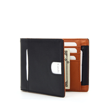Amazon hot sale RFID blocking PU leather wallet RFID men money clip wallets