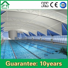 PVC membrane structure house with single layer or double layer
