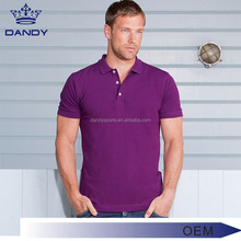 Wholesale plus size mens clothing no brand 100% cotton pique polo t shirts fatory price