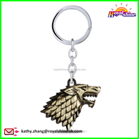 Movie Series Key Chain Game of Thrones Key Ring House Stark Winter is Coming Key Chain