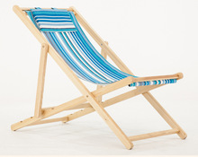 Yoler High Quality Adjustable Wooden Beach Chair