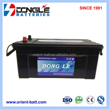 N220MF DONG LE High Quality MF 12v 220ah with price