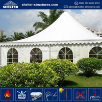 Factory price aluminum frame, PVC fabric covers partytent 3m 3m party wedding gazebo 3x9m pvc garden gazebo pavilion