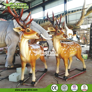 Zoo Attractions Simulation Moving Animal Model