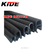 rubber protective strip pvc edge trim with metal
