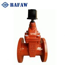 Ductile iron /cast iron 4 inch gate valve with cast iron handwheel