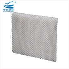 White Color evaporative wick filter honey comb cooling pad Humidifier Filter for cooler