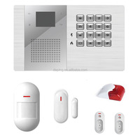 16 zone conventional fire alarm control panel home alarms system