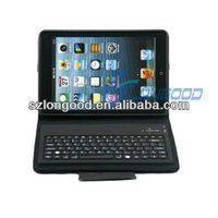 New Arrival Leather Case + Wireless Bluetooth Keyboard for iPad Mini