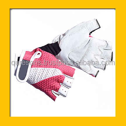 body building gym workout gloves gym fitness white pink cheap price gym gloves