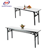 Factory Cheap Commercial Furniture 10 People Long Folding Banquet Dining Table